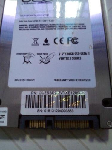 OCZ Vertex 2 120GB- SATA II SSD