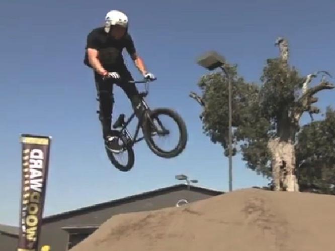 Old school Ripper BMX bicycle stunt bike legacy @
