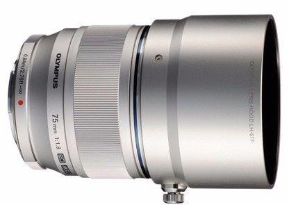 Olympus 75mm f1.8 (Silver) Lens for Micro 4/3