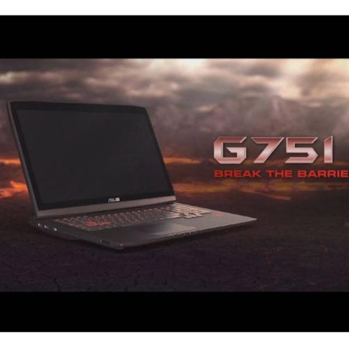 Only Touchscreen Asus ROG751 in Singapore at only $1698