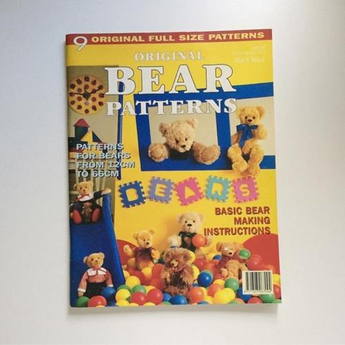 Original Bear Patterns Craft Magazine
