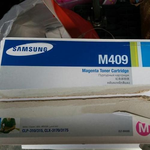 original Samsung c409 y 409 toner ink cartridges
