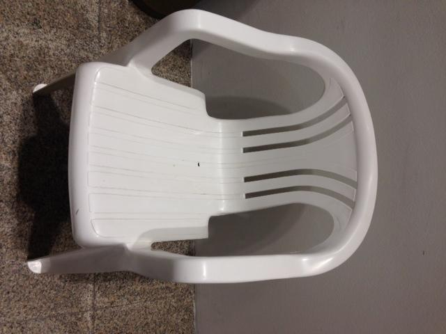 Outdoor chairs - White, German Kettler Brand