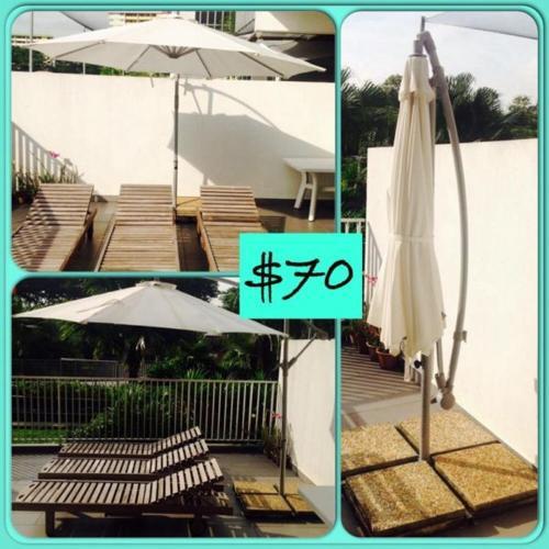 Outdoor Patio Umbrella Ikea Karlso For