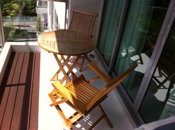 Outdoor Teak Table+ 2 Chairs For Sale!