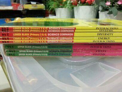 P3 - P6 Science Assessment Books