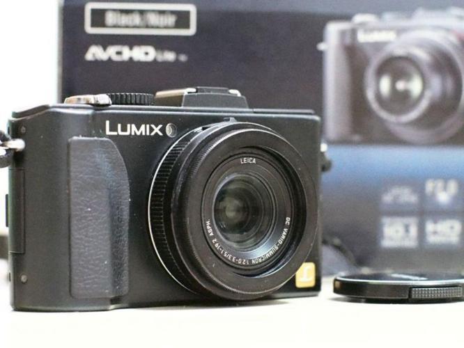 Panasonic LX-5 Good Condition Boxed 8gb Memory