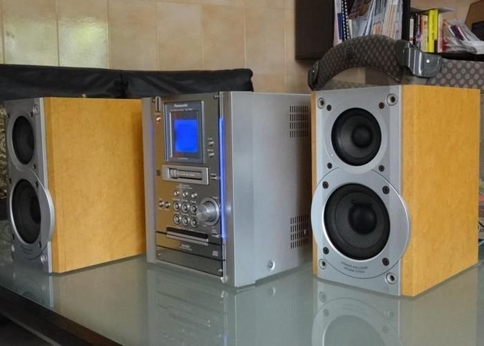 Panasonic Mini Hi-Fi Micro Component System SA-PM25