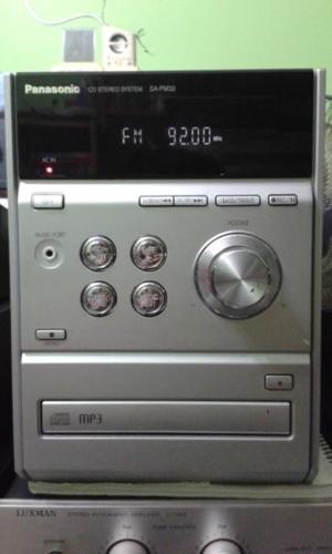 PANASONIC MINI HIFI SELL AS FM TUNER AMPLIFIER.