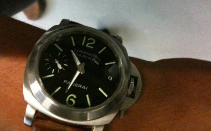 Panerai luminor marina watch (used - no box & paper)