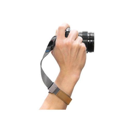 Peak Design Cuff (New Version - Ash and Black) Wrist