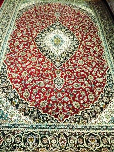 PERSIAN CARPET SHIRAZ 200cm(2mtr) x 300cm(3mtr) A-SILK