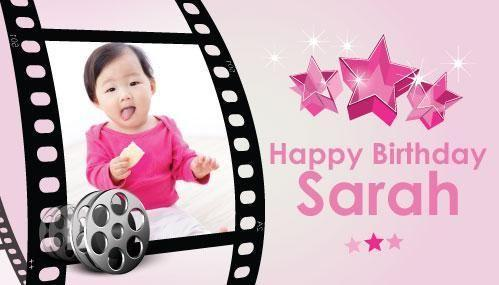 Personalized Birthday Banner for Girls Party Singapore