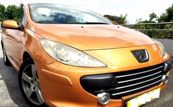 Peugeot 3077cc Coupe Convertible Sport Car 2.0A For