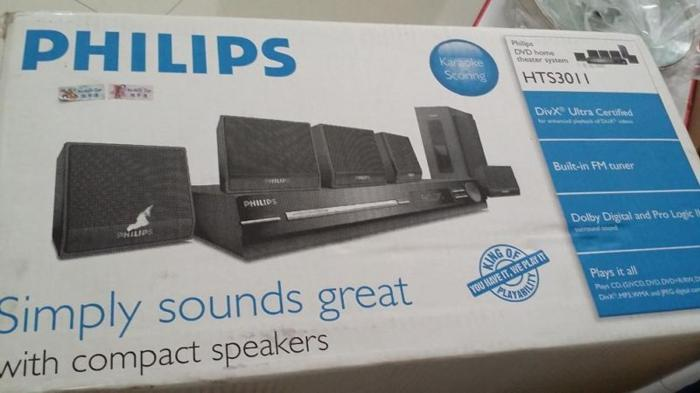 Philip DVD Home theater system