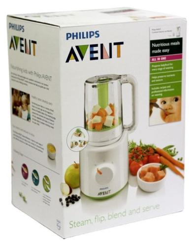 Philips Avent food steamer and blender