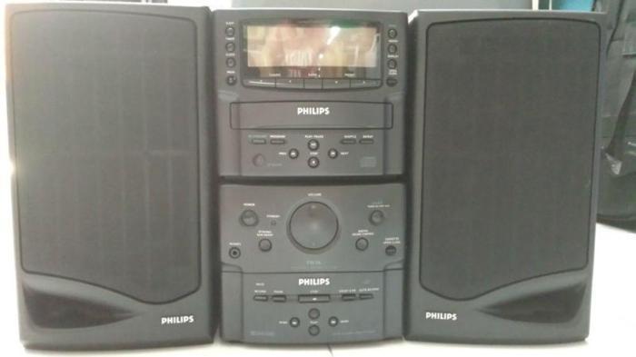 Philips FW 16 CD/Cassatte/Radio micro system