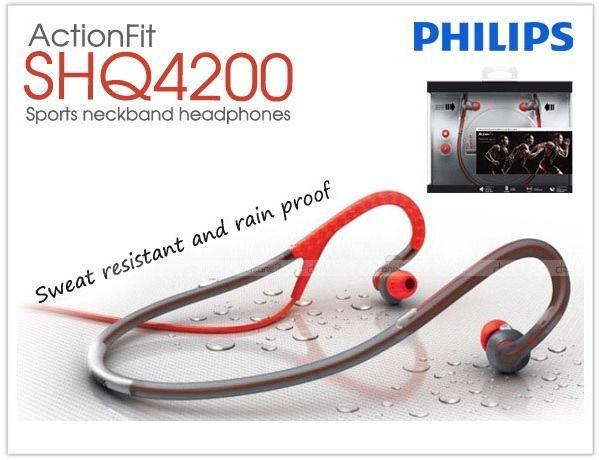 Philips SHQ4200 Sports Music Neckband Headphones