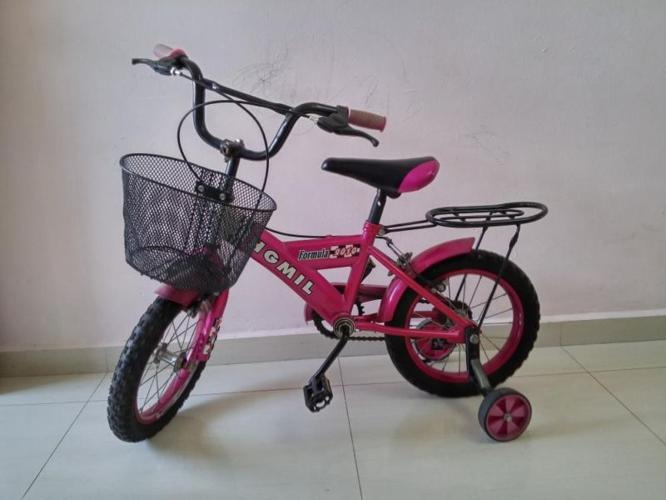 pink bicycle for kids