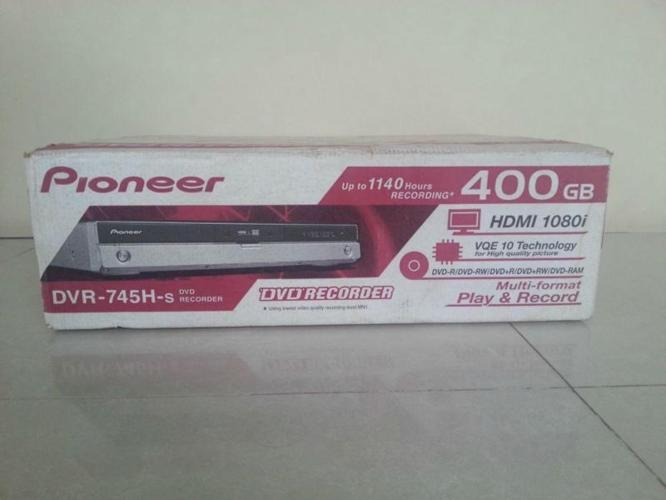 FS: Pioneer DVR-745H-s DVD 400GB HDD Digital Video Player