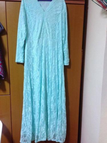 PL Mint Lace Dress