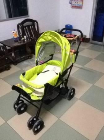 po)seebaby twin stroller - $180
