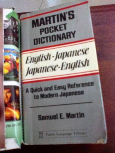 Pocket size english-japanese & japanese-englishe