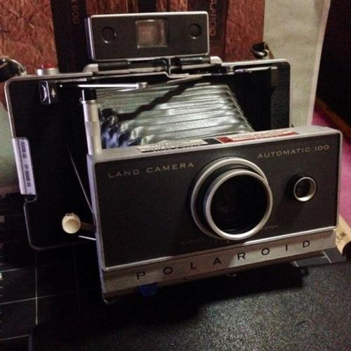 Polaroid Land Camera 100
