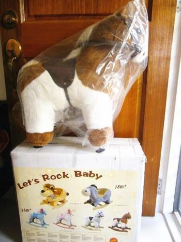 Pony rocker + Playskool baby walker for sell