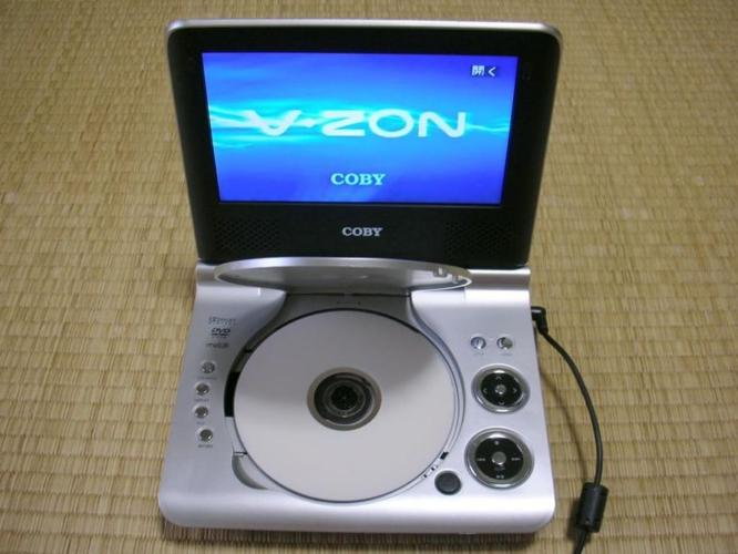 Portable DVD Player & TV & Monitor Coby (As New) for