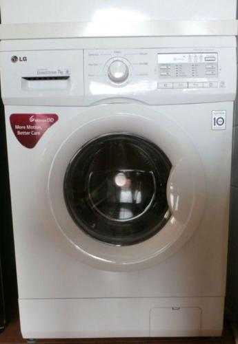 Practically New! LG 7kg Front Load Washer