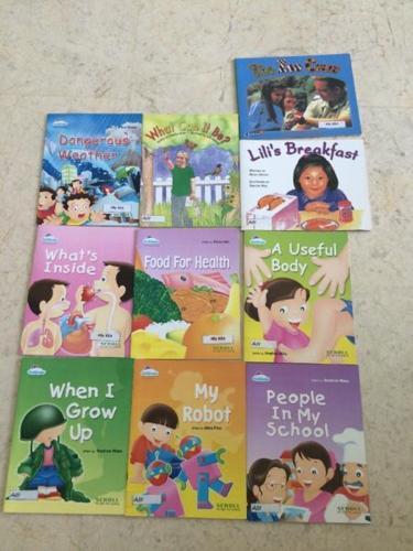 Pre-reader book - kindergarden -k1 k2