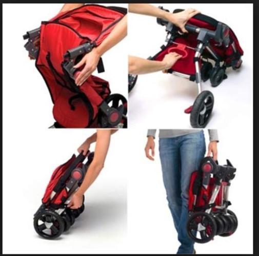 Pre love traveling stroller