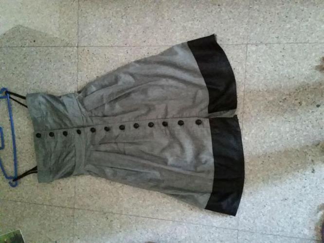 Preloved GG5 Black Denim Dress (Size S)