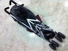 Preloved Maclaren stroller for sale (black)