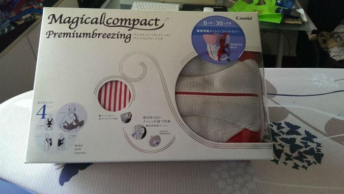 441d09bd89b Preloved Magical Compact Combi Baby Carrier for Sale in Choa Chu ...
