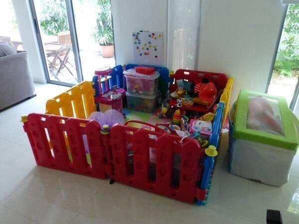 9ecf1e76c9fe Preloved playpen   playard + playmats for Sale in Tanjong Pagar ...