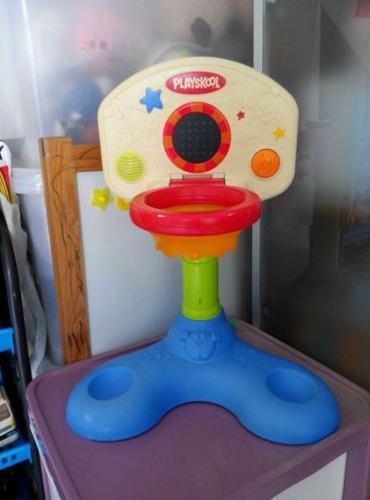 Preloved Playskool Basketball Hoop with music for sale!