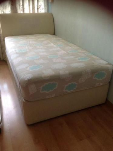 Preloved Super Single Divan Storage Bed With Mattress For Sale In