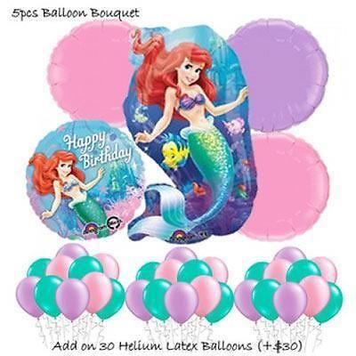 Princess Ariel Little Mermaid Balloon Bouquet by Party