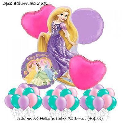 Princess Rapunzel Balloon Bouquet by Party Wholesale
