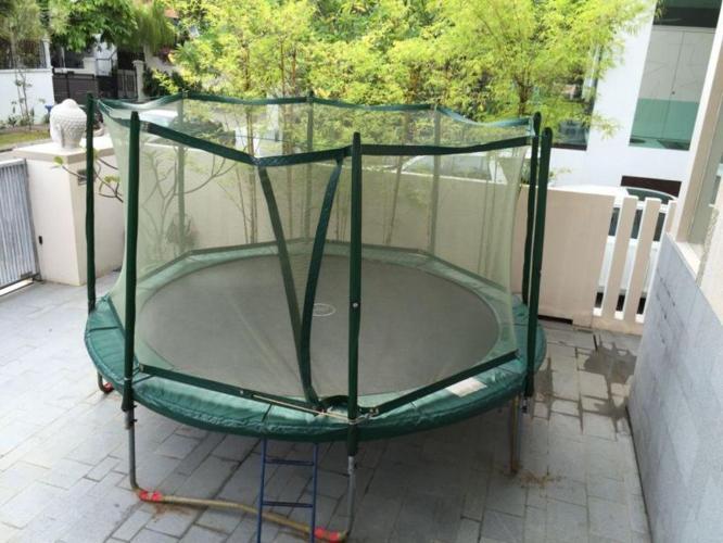 PRO-LINE 14 foot (4.2 meter) trampoline including
