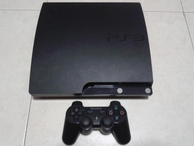 PS3 slim console set upgraded to 1TB storage