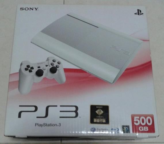PS3 Super slim 500gb with many games
