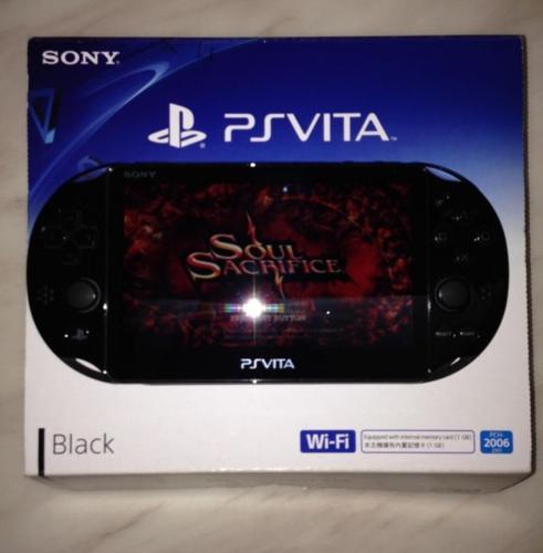 PS Vita Slim Black WiFi