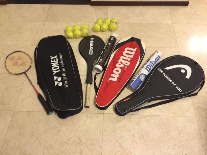 Racquets for sale - almost new - $100 (Tannah Merah)