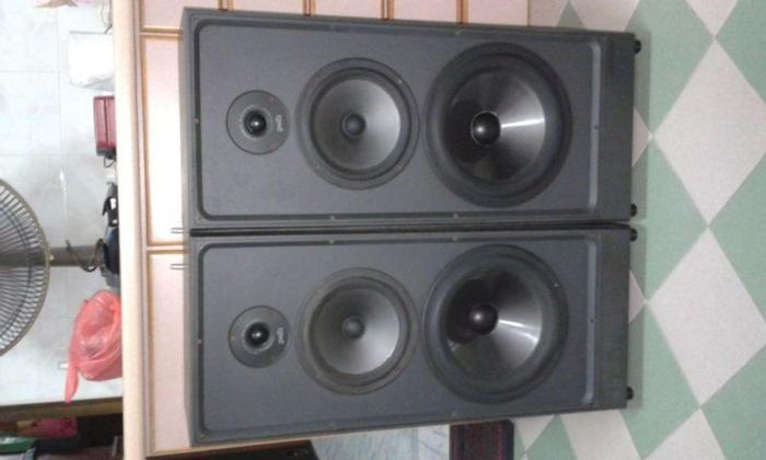 RARE GOOD CONDITION POLK AUDIO S10 FLOOR SPEAKERS.