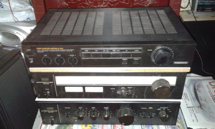 RARE SLIM THOMSON INTEGRATED AMPLIFIER WITH QUALITY