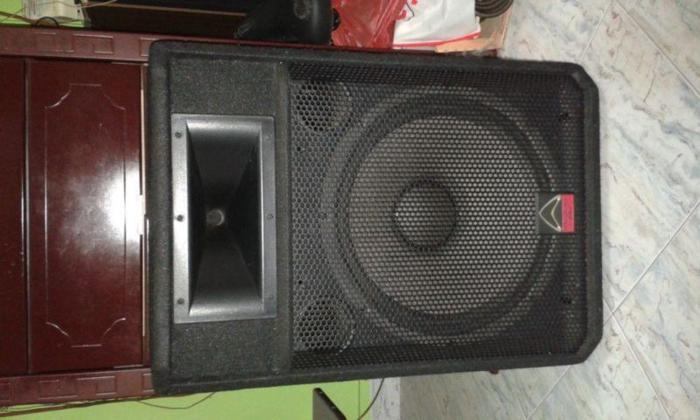 RARE WHARFEDALE SPEAKERS BUILT IN 15 INCH WOOFER & HORN