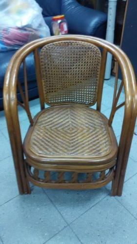 rattan woven chair